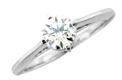 Diamond Solitaire Engagement Ring - Dominion Jewelers