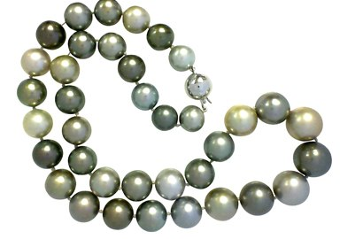 Mixed Gray Pearl Necklace