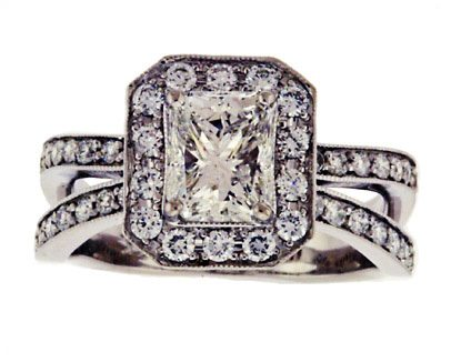 Radiant Cut Diamond Ring