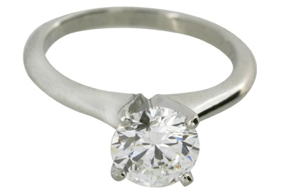 Round Brilliant Diamond Solitaire