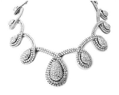Stunning Diamond Collar Necklace