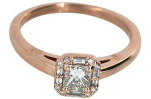 Vintage Design Rose Gold Engagement Ring - Dominion Jewelers